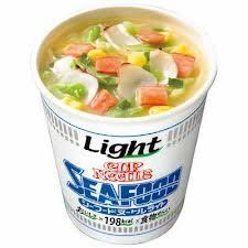 Nissin Cup Noodle Seafood Light 198kcal 57gx12 cups x 1case ** Details can be found by clicking on the image.Note:It is affiliate link to Amazon.