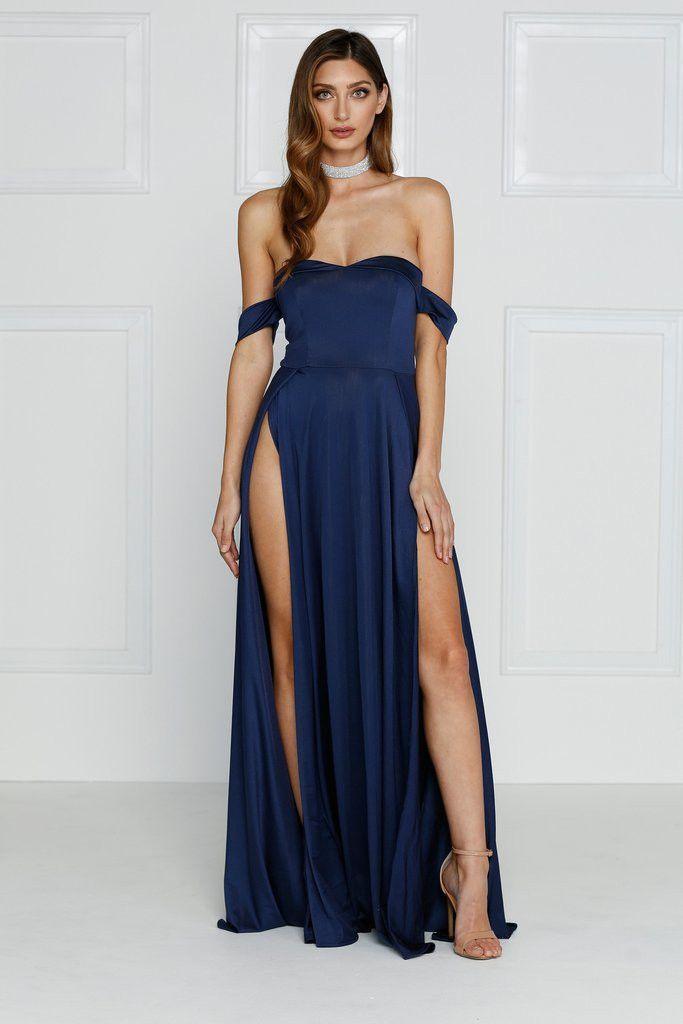 Navy Blue Formal Dress | All Dress
