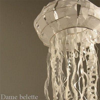 cute decoration for an underwater birthday party: Jellyfish Lanterns, Birthday Parties, Paper Lanterns, Birthday Ideas Cakes Decor Etc, Underwater, Decoration, Lantern Jellyfish, Party Idea, Birthday Party