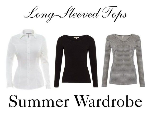 Long-Sleeved Tops ~ Summer Wardrobe by chicgoddess88 on Polyvore