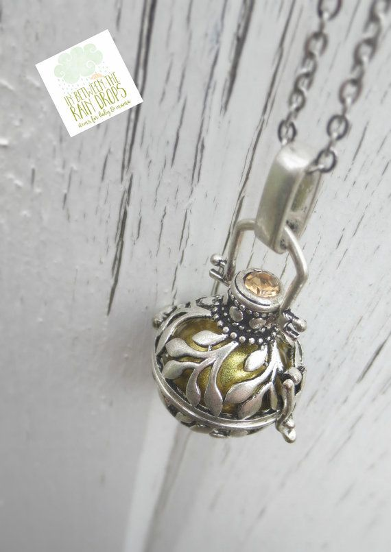 Angel Caller Bola Necklace Mexican Bola by InBetweenTheRaindrop