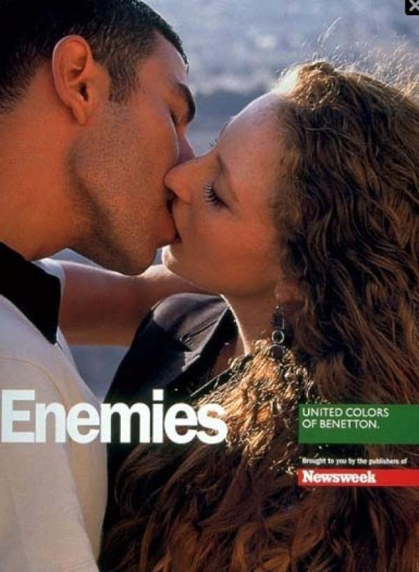 Oliviero Toscani United Colors of Benetton #Enemies