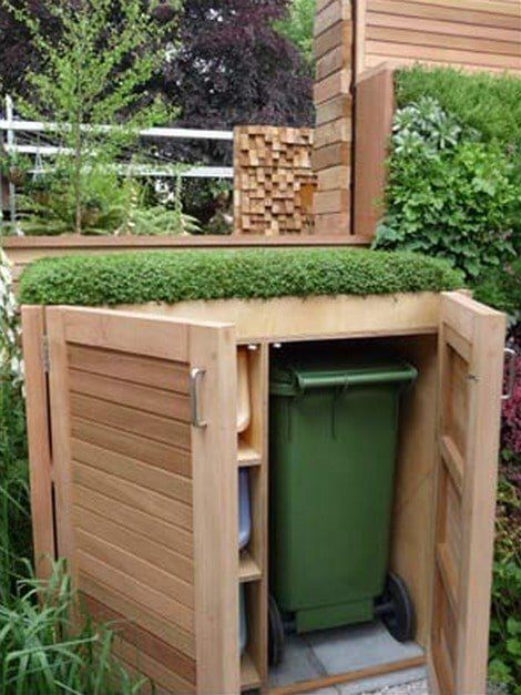 The 25 Best Hide Trash Cans Ideas On Pinterest Outdoor
