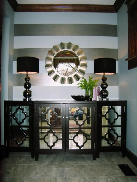 Mirror, Mirror on the Wall (or the floor, or the tabletop, or on a shelf): Decorating With Mirrors: Home Decorating Ideas