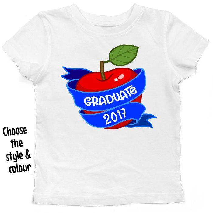 Graduate Apple T Shirt or Hoodie