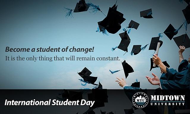 International Student Day - 17th Nov, 2012 by Midtown Uni, via Flickr