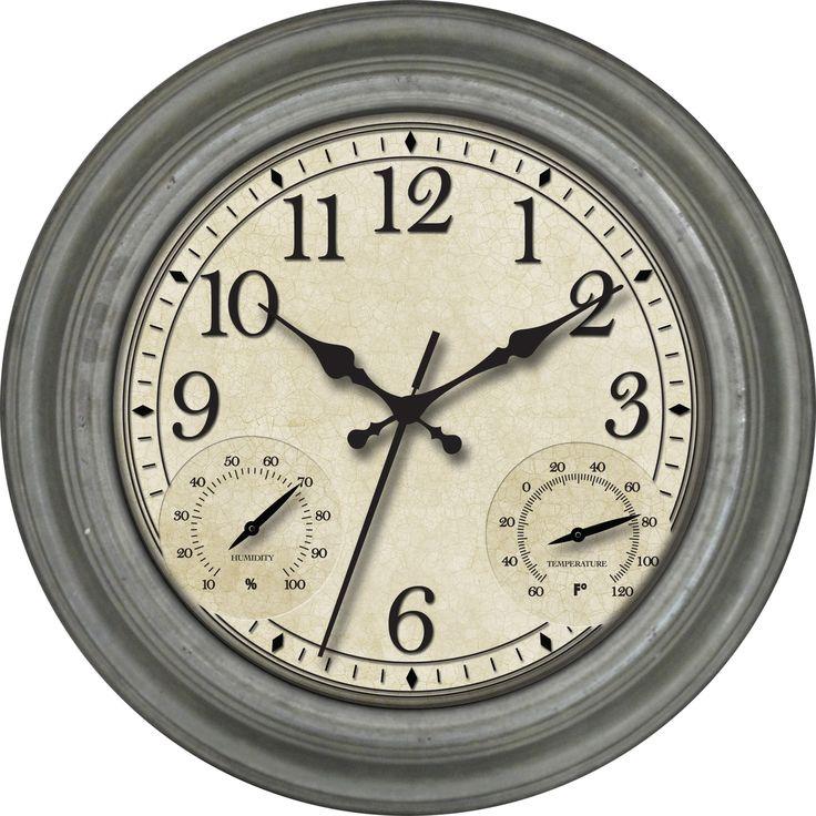 """16"""" Indoor / Outdoor Wall Clock"""