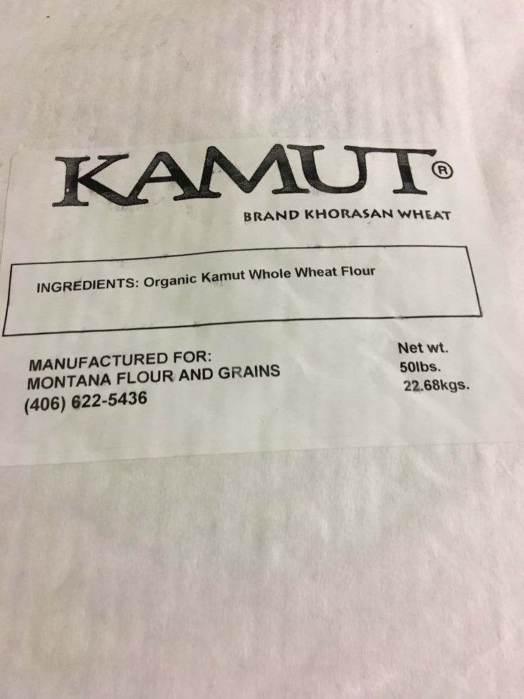 100% Roller Milled Organic Whole Wheat KAMUT Flour - Montana Flour & Grains
