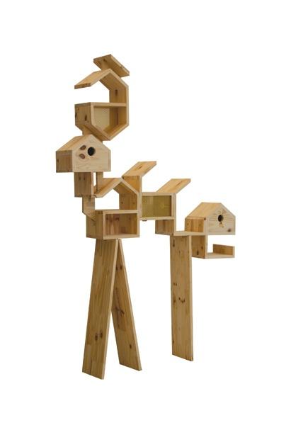 Bird House by Maxime Delporte