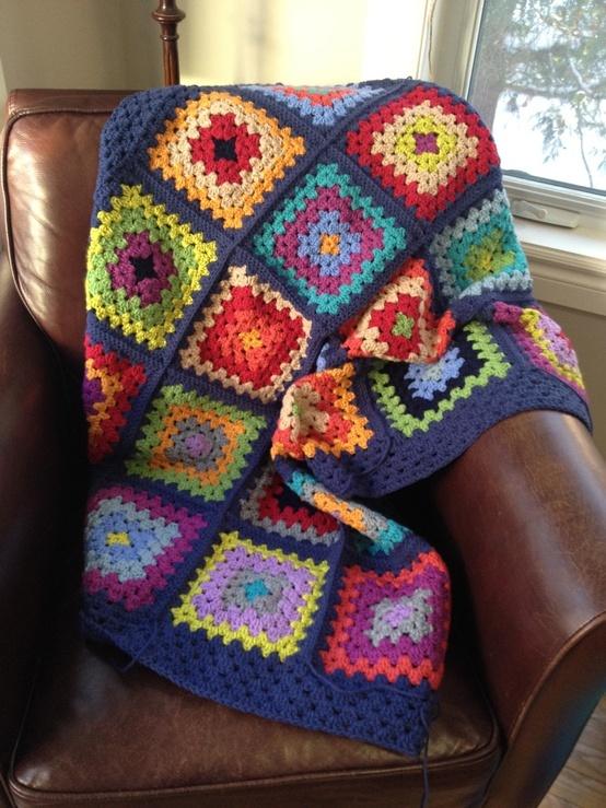 Caracol handmade: The good ol' granny square