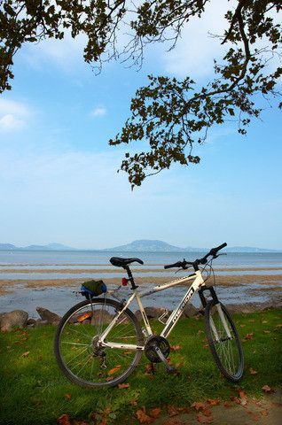Our favourite way to view Lake Balaton, Hungary