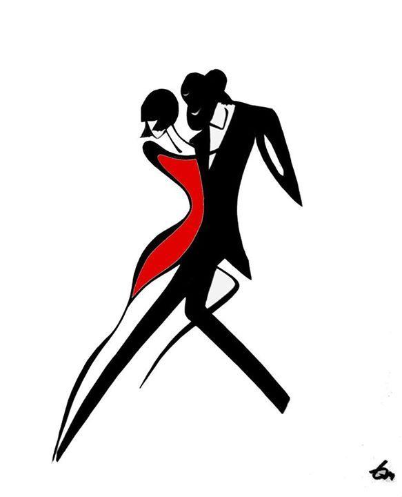 Стилизованный танец картинка