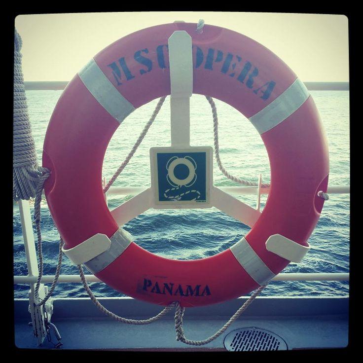 An #MSCOpera lifesaver! (not that you'll be needing one)  #CruiseMiss
