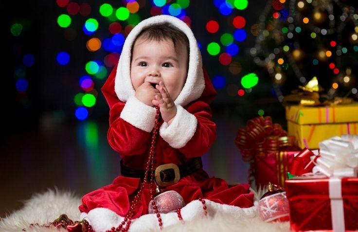 Merry Christmas Baby Other People Background Wallpapers On