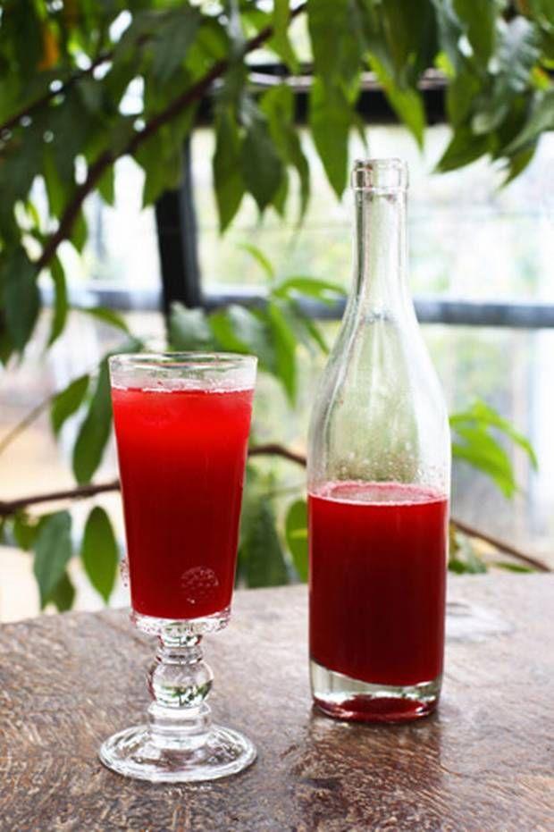 Raspberry cordial - Recipe