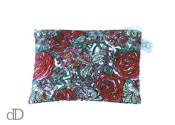 Make Up Bag / Cosmetic Bag /  Purse in Tomothy Ronald Liberty print
