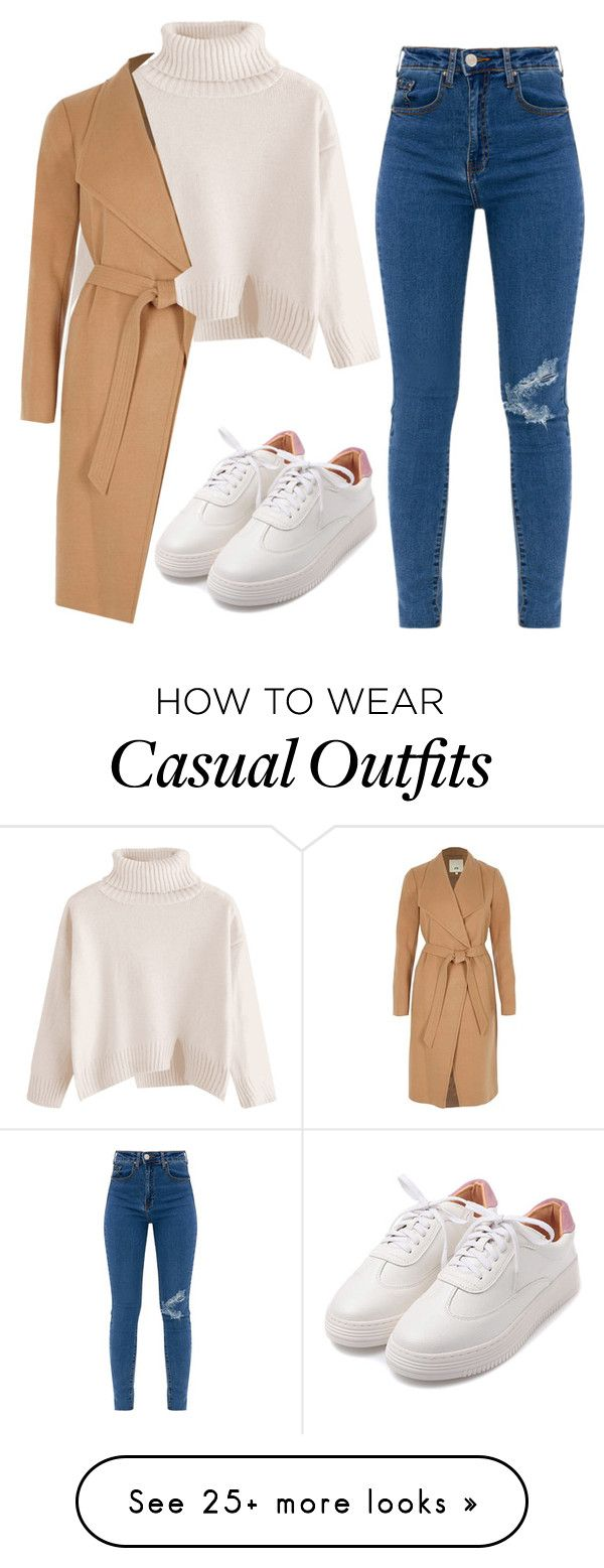 """""""Fall Casual"""" by madeline97 on Polyvore featuring River Island, StreetStyle, Fall, NYC and CasualChic"""