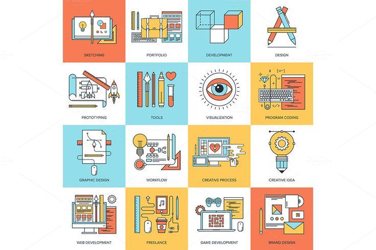Design and Development. by vasabii on Creative Market