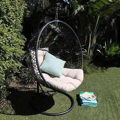 outdoor hanging egg chair - Google Search