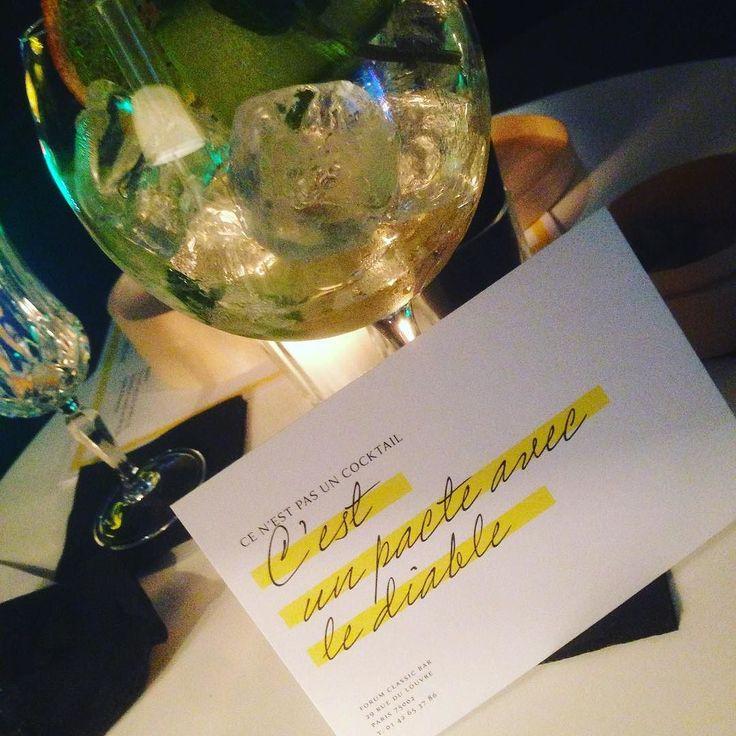 #quote @le_forvm #Cocktail #parisestunefête #paris by unventresurpattes #food