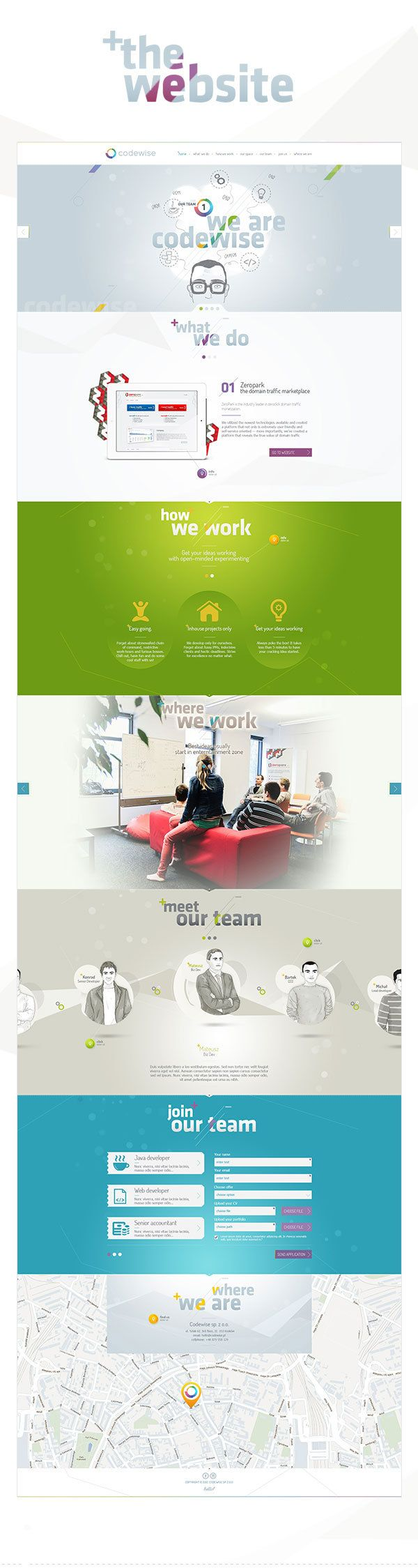 Codewise Website on Behance by Hello! Studio