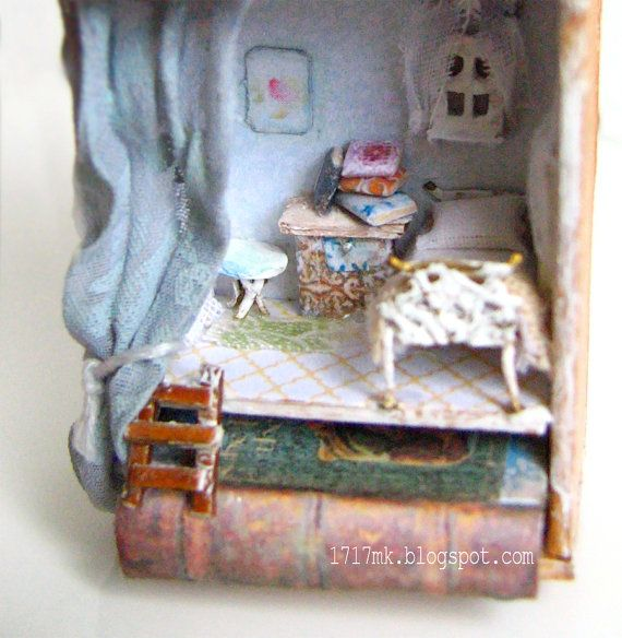 Anne of Green Gables  her miniature house by MiniInteriors  on Etsy 1717mk