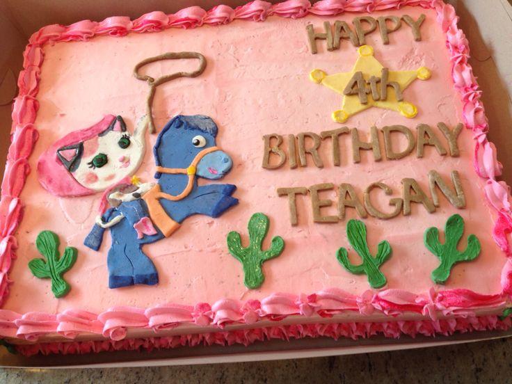 sheriff callie birthday cake