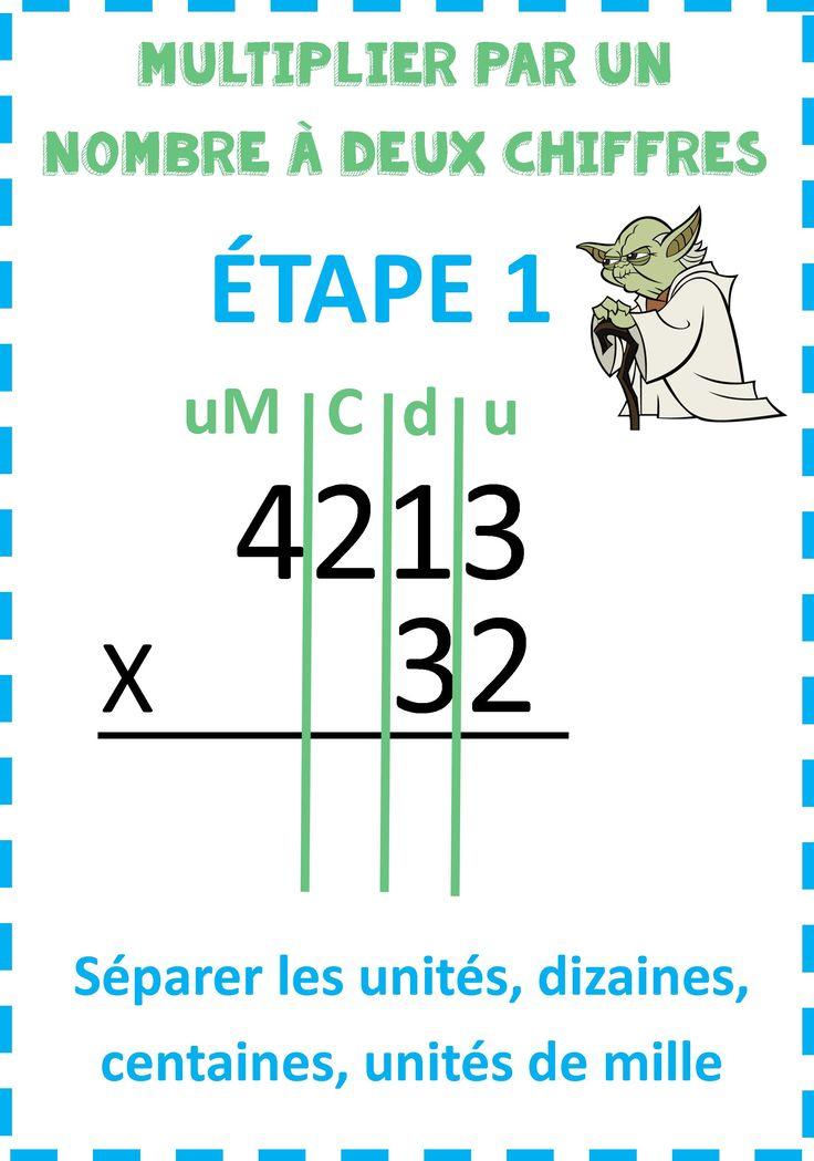 Les 14 meilleures images du tableau ce2 maths sur for Apprendre la multiplication ce1
