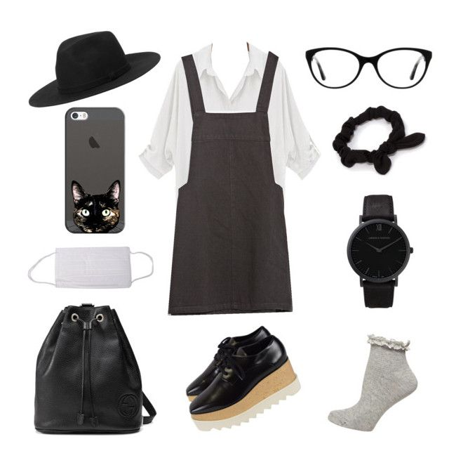 """Mizukawa-sama"" by thengirl on Polyvore featuring Zara, STELLA McCARTNEY, Dorothy Perkins, NLY Accessories, Vogue, Larsson & Jennings, Gucci, Monki, Casetify and women's clothing"
