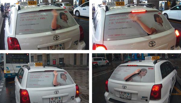 What is Ambient Advertising? Guerrilla Marketing Photo