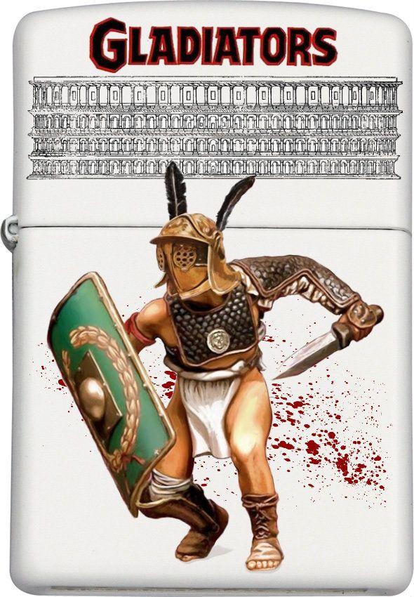 Colosseum Blood & Sand Custom Zippo Design 2