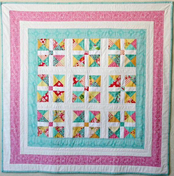 Quilt Baby Quilt Blanket Patchwork Quilt