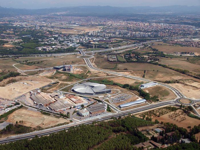El Sincrotró ALBA, a Cerdanyola del Vallès (Barcelona).