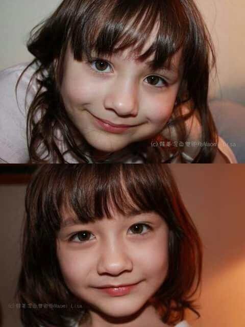 Up : Lisa and Down : Naomi  #Beautifulgirls