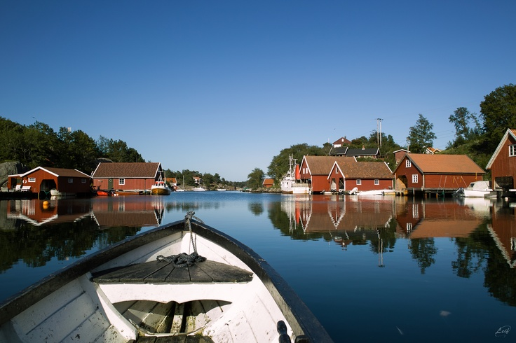 The archipelago of Norway Mandal.