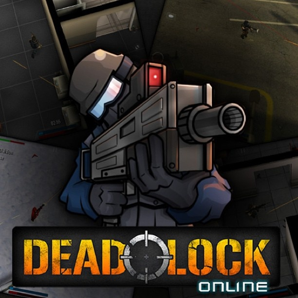 Step into the world of DEADLOCK, the most Epic 3d online  dualstick shooter on the App Store! #freeapp #appstore