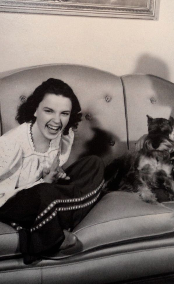 Judy Garland, great smile