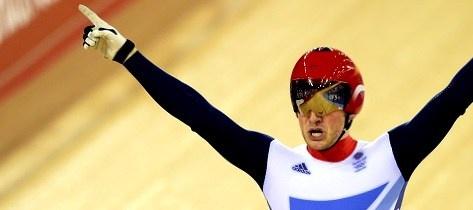 Great Britain cyclist Jason Kenny