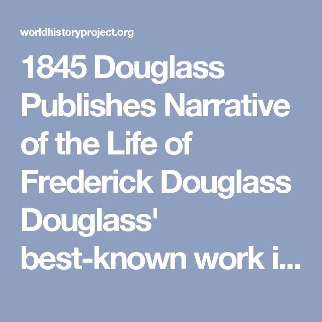 frederick douglass thesis statement