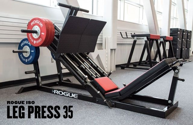 Rogue iso leg press fitness machines