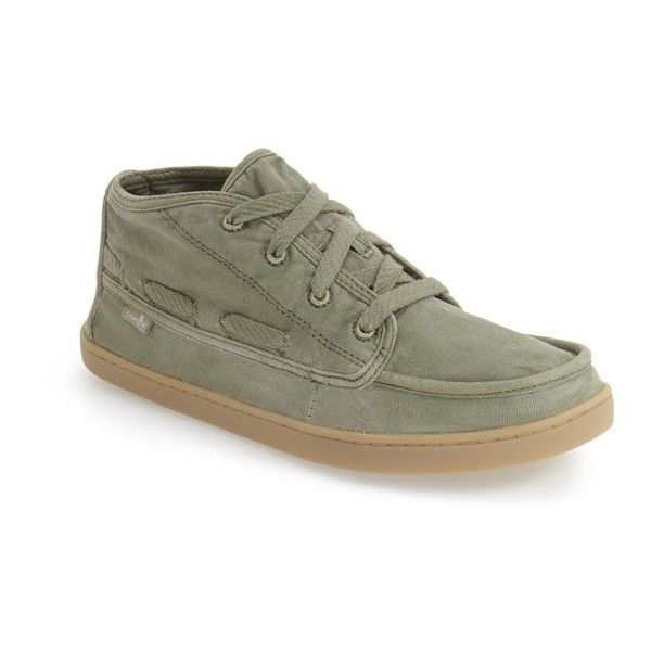 Women's Sanuk 'Vee K Shawn' High Top Sneaker (72 CAD) ❤ liked