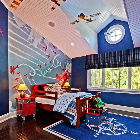 25 best images about boy 39 s bedroom ideas on pinterest for Boys bedroom mural