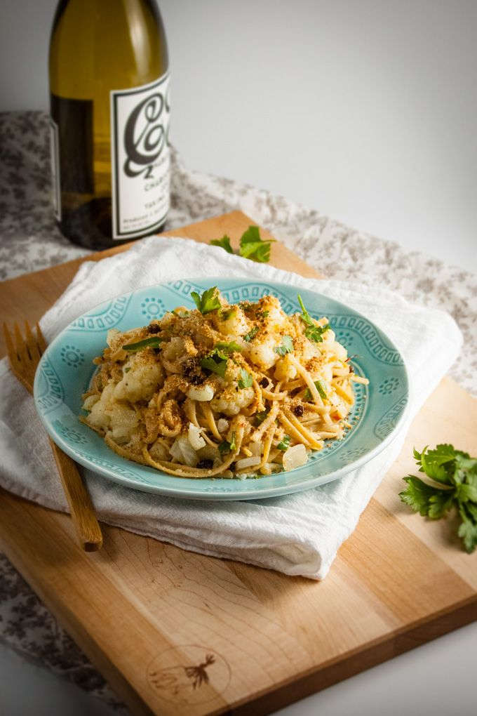 Pasta Con Cavofiore: Sicilian Pasta with Cauliflower
