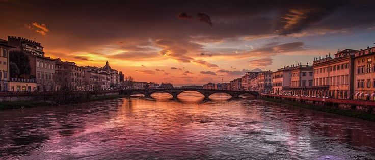 Sunset in Florence. by Pedro López Batista