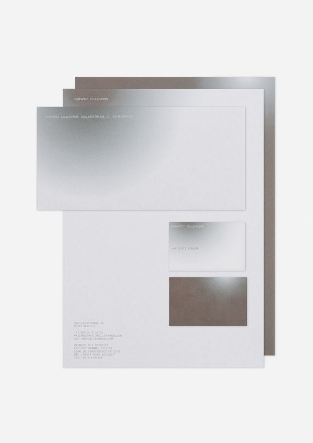 Gerhardt Kellermann - Hubert & Fischer | Graphic Design, Art Direction, Visual Communication