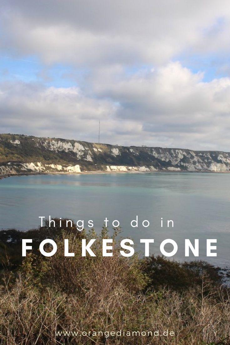 Things to do in Folkstone! Die besten Sehenswürdigkeiten und Tipps für die englische Stadt an der Küste für einen Tag!