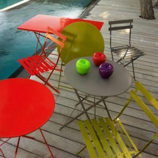 #AlineaPE2014  Chaise pliante d'extérieur Gris / Taupe - Pims - Les chaises de jardin - Les tables et chaises - Jardin - Décoration d'intérieur - Alinéa