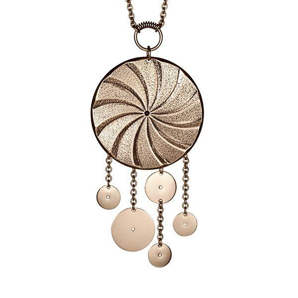Kalevala Koru / Kalevala Jewelry / MILLSTONES PENDANT material: bronze or silver