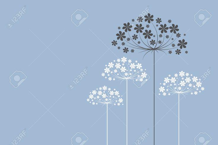 Soyut çiçekler Royalty Free Klipartlar, Vektör Çizimler Ve Stok Çizim. Image 38014149.