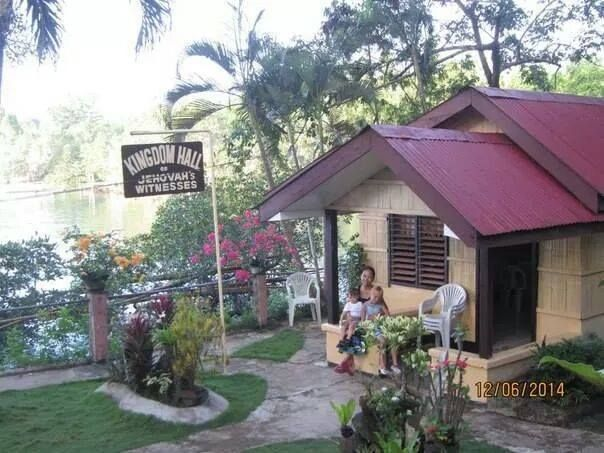 Balut Island Kingdom Hall, Phillipines.  This KH is so cute...looks cozy!